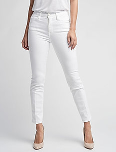 LE HIGH STRAIGHT - straight jeans - blanc