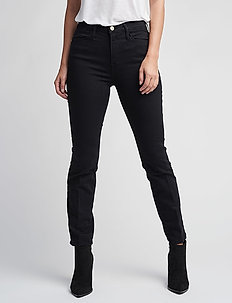 LE HIGH STRAIGHT - straight jeans - film noir