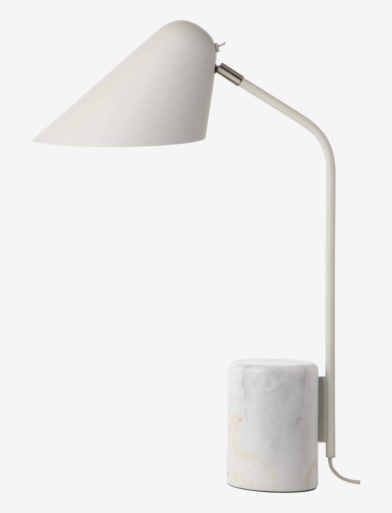 Frandsen Lighting - Rowan Table Lamp - bordlamper - matt cool grey - 0