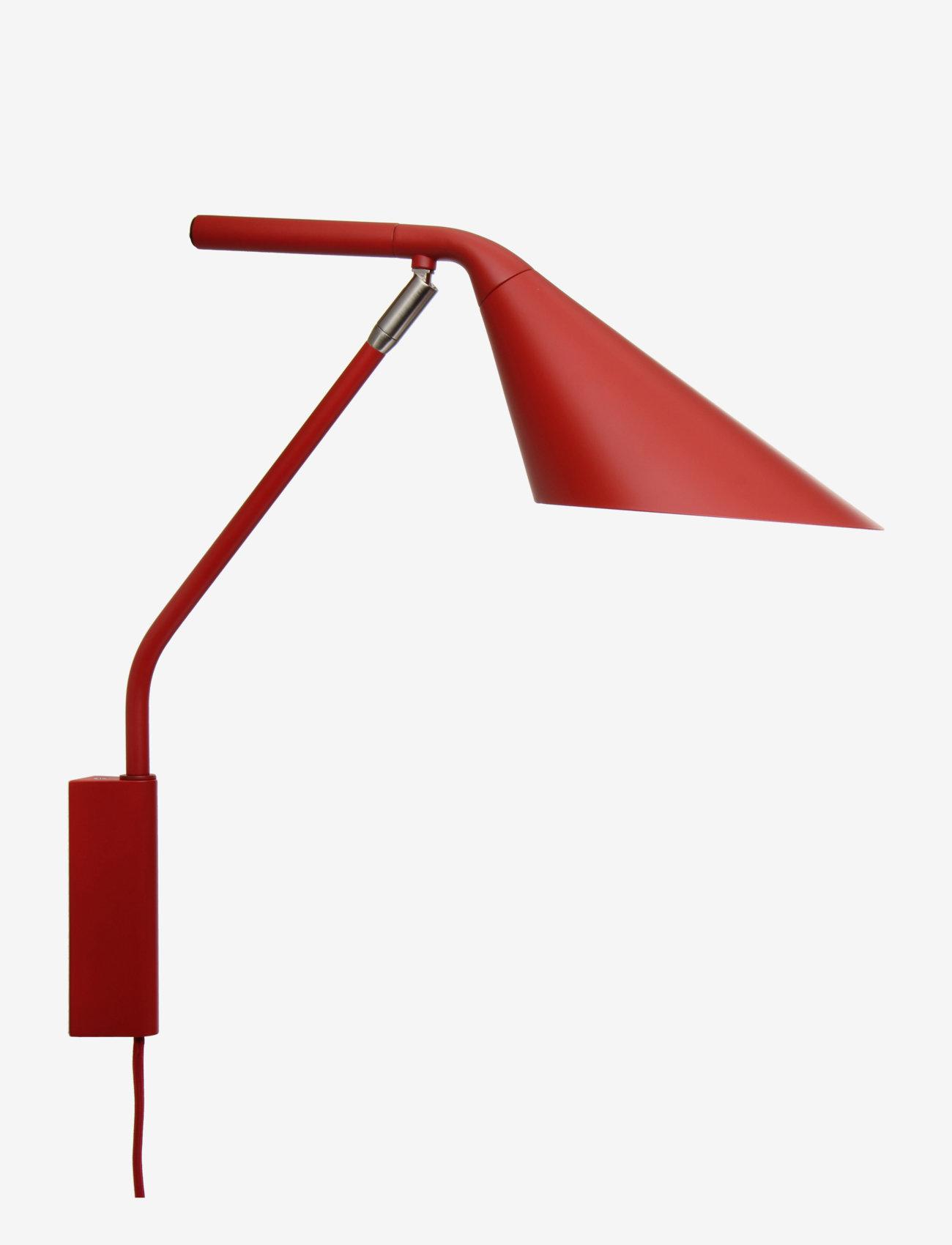 Frandsen Lighting - Ray Wall Lamp - vegglamper - matt paprika - 0