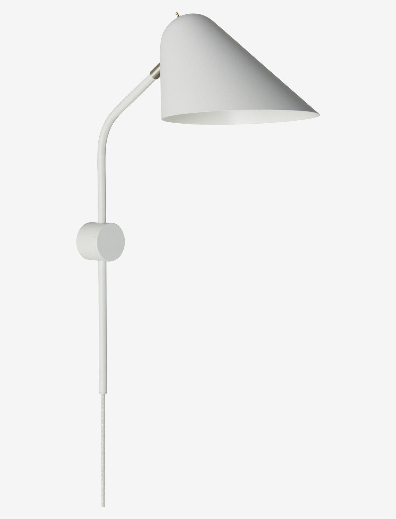 Frandsen Lighting - Rowan Wall Lamp - vegglamper - matt cool grey - 0