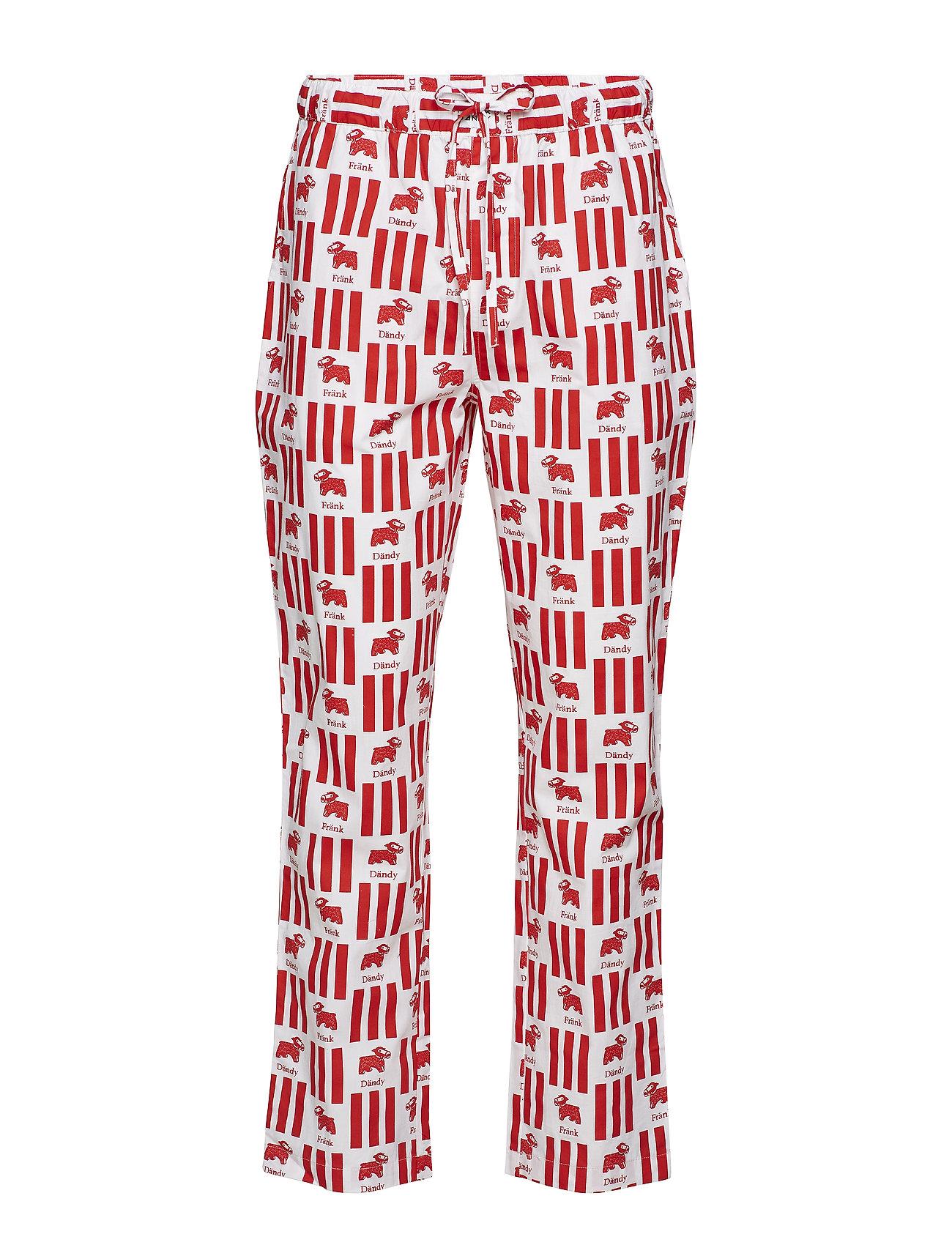 Image of Milk Pyjama Kit Pyjamas Nattøj Rød FRANK DANDY (3092617923)