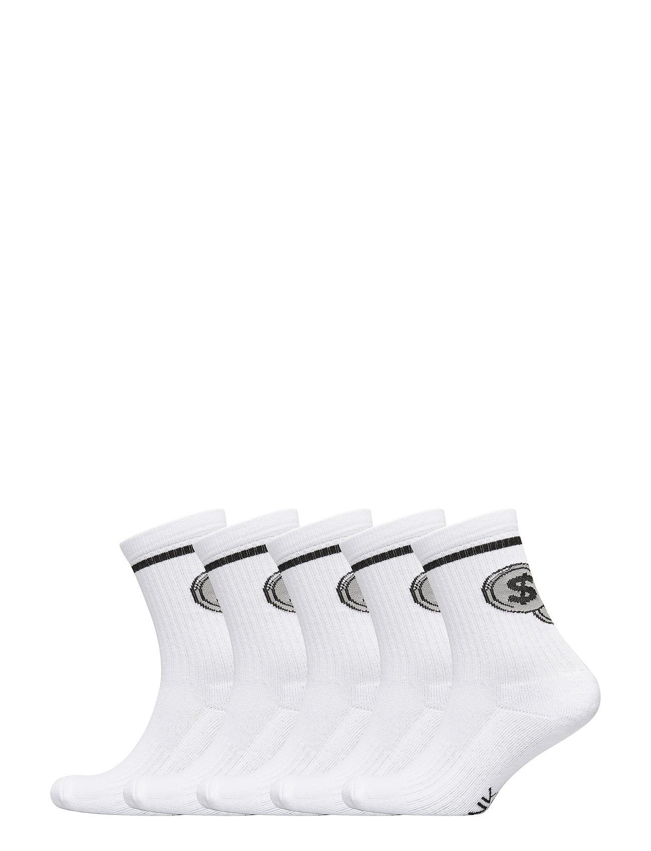 Frank Dandy Half Terry Sock 800 Mill - WHITE