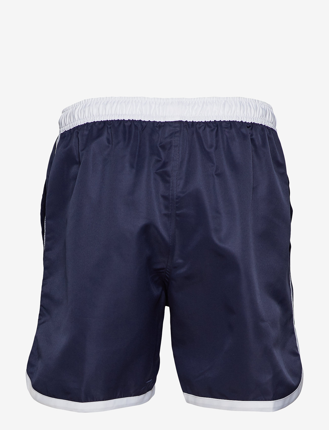 St Paul Long Bermuda Shorts (Dark Navy) - Frank Dandy 7zJvxb