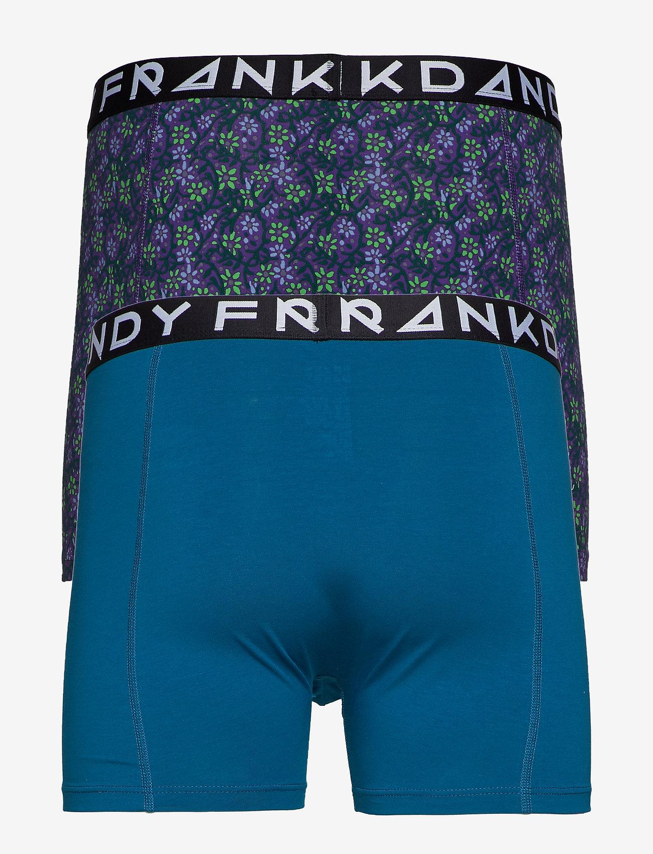 Frank Dandy - 2 Pack Blom Boxer - boxers - purple/petrol - 1