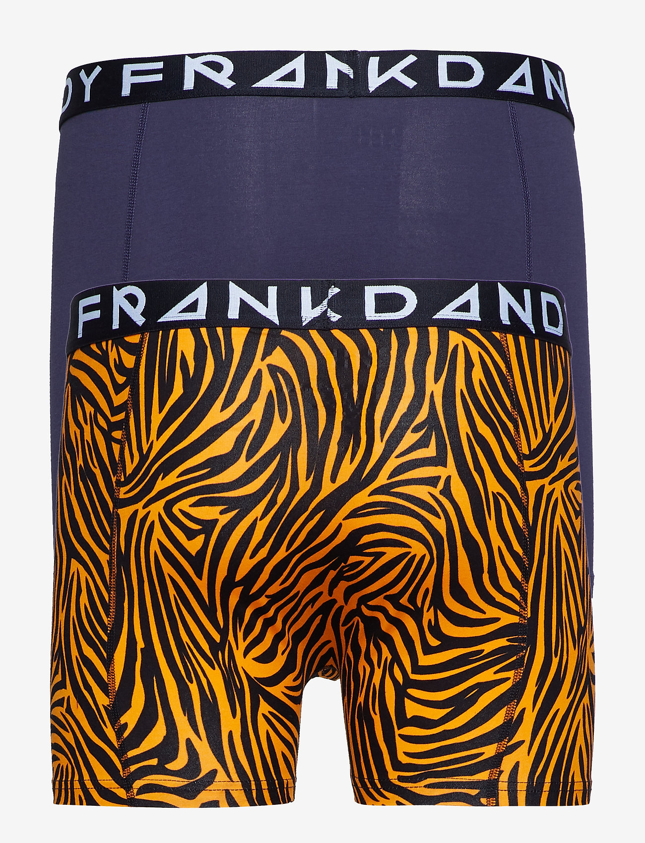 Frank Dandy - 2 Pack Tiger boxer - boxershorts - yellow/navy - 1