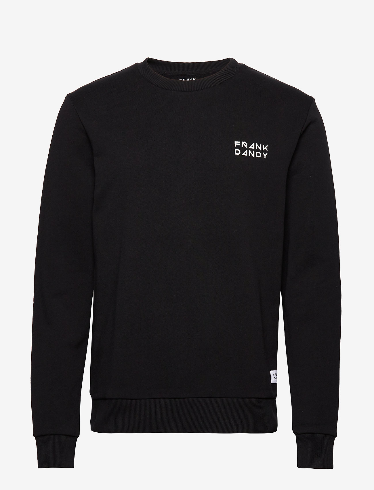 Frank Dandy - Unisex Solid Crew - basic sweatshirts - black - 0