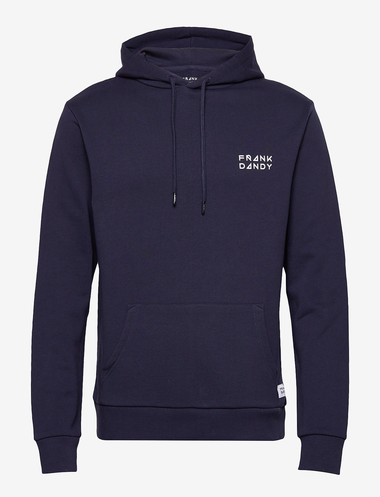 Frank Dandy - Unisex Solid Hoodie - basic sweatshirts - dark navy - 0