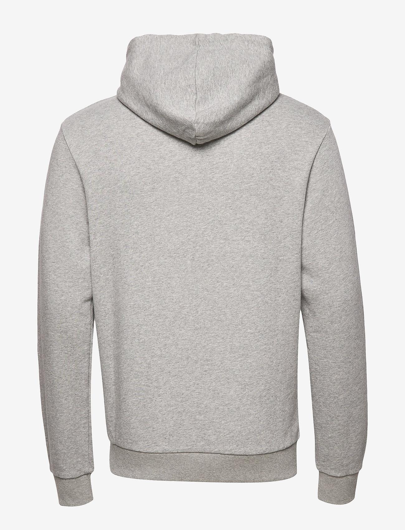 Frank Dandy - Unisex Solid Hoodie - basic sweatshirts - grey melange - 1