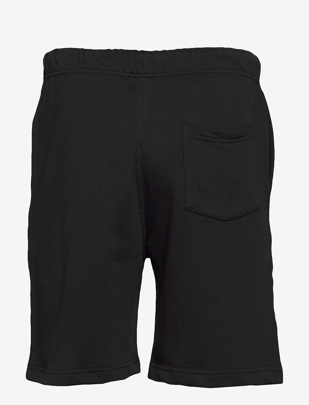 Frank Dandy - Unisex Solid Sweat Shorts - casual shorts - black - 1