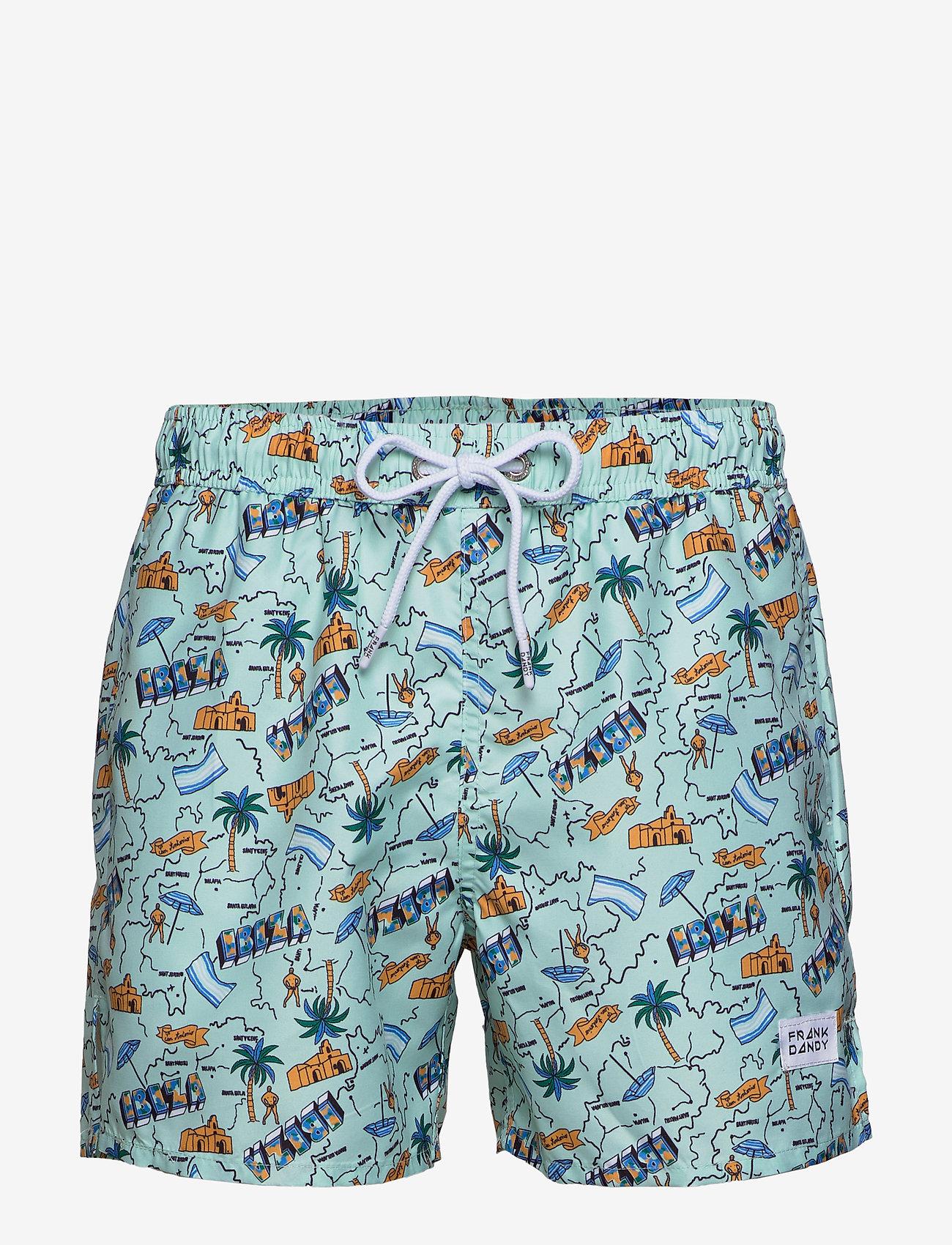 Frank Dandy - Ibiza Breeze - swim shorts - light blue - 0