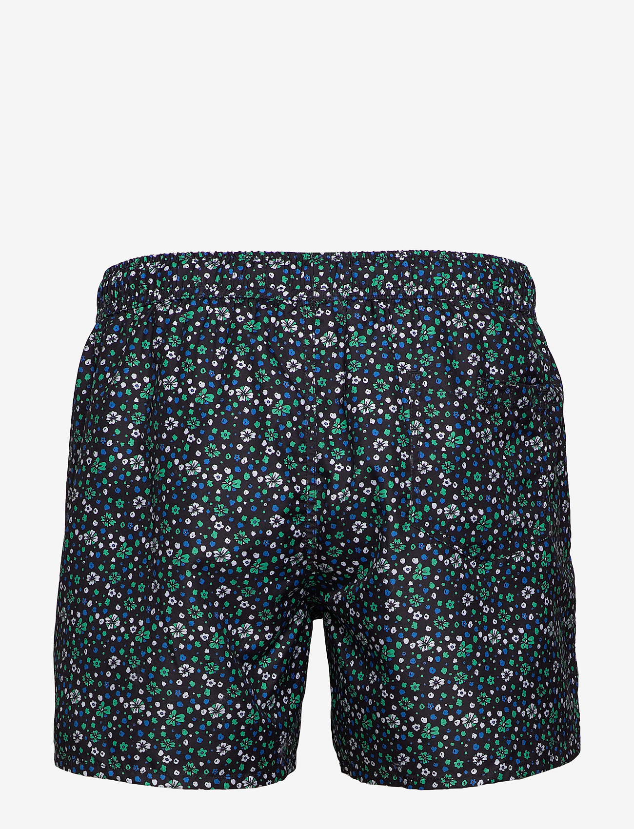 Frank Dandy - Blume Print Breeze - swim shorts - blue - 1