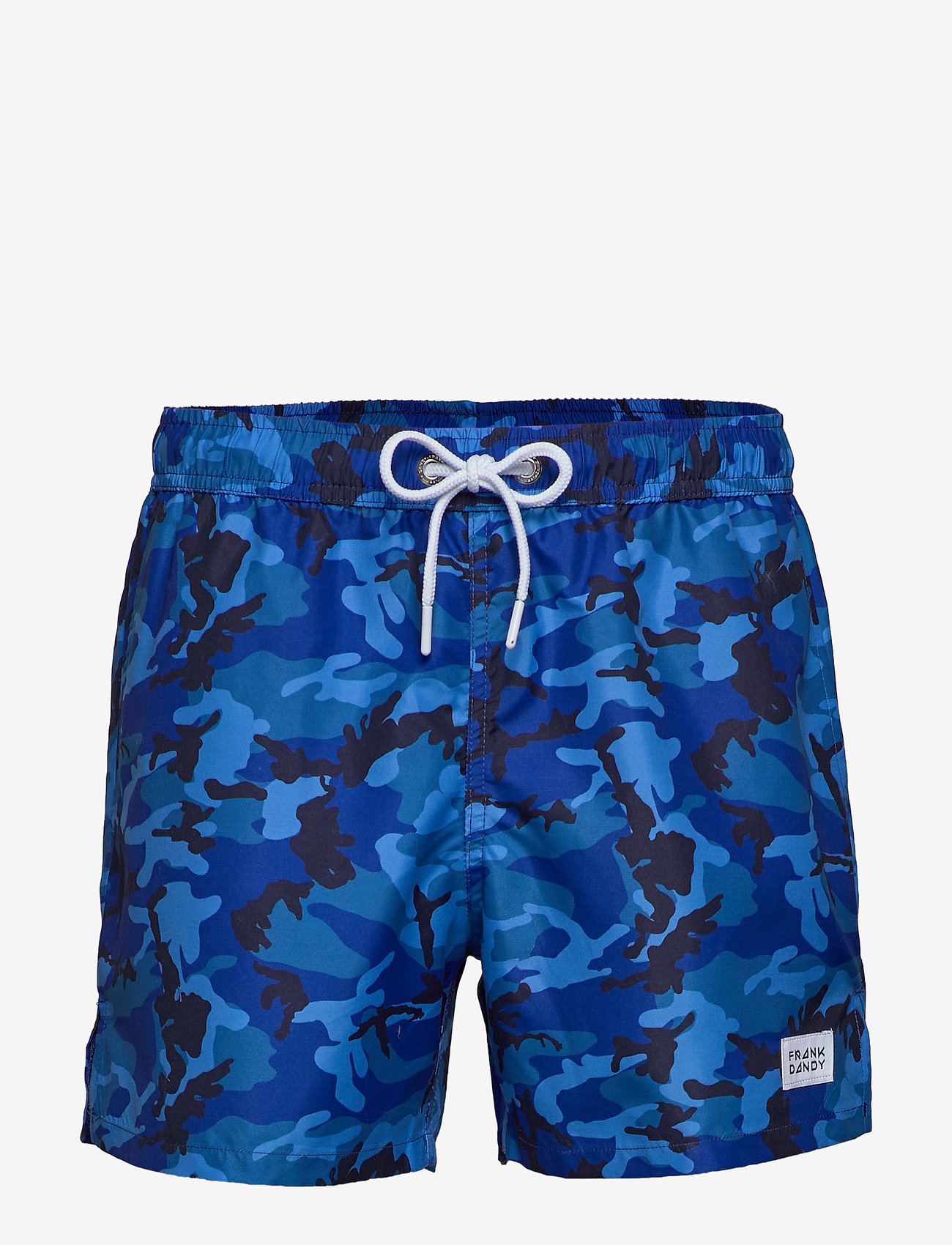 Frank Dandy - Camo Print Breeze - szorty kąpielowe - blue - 0