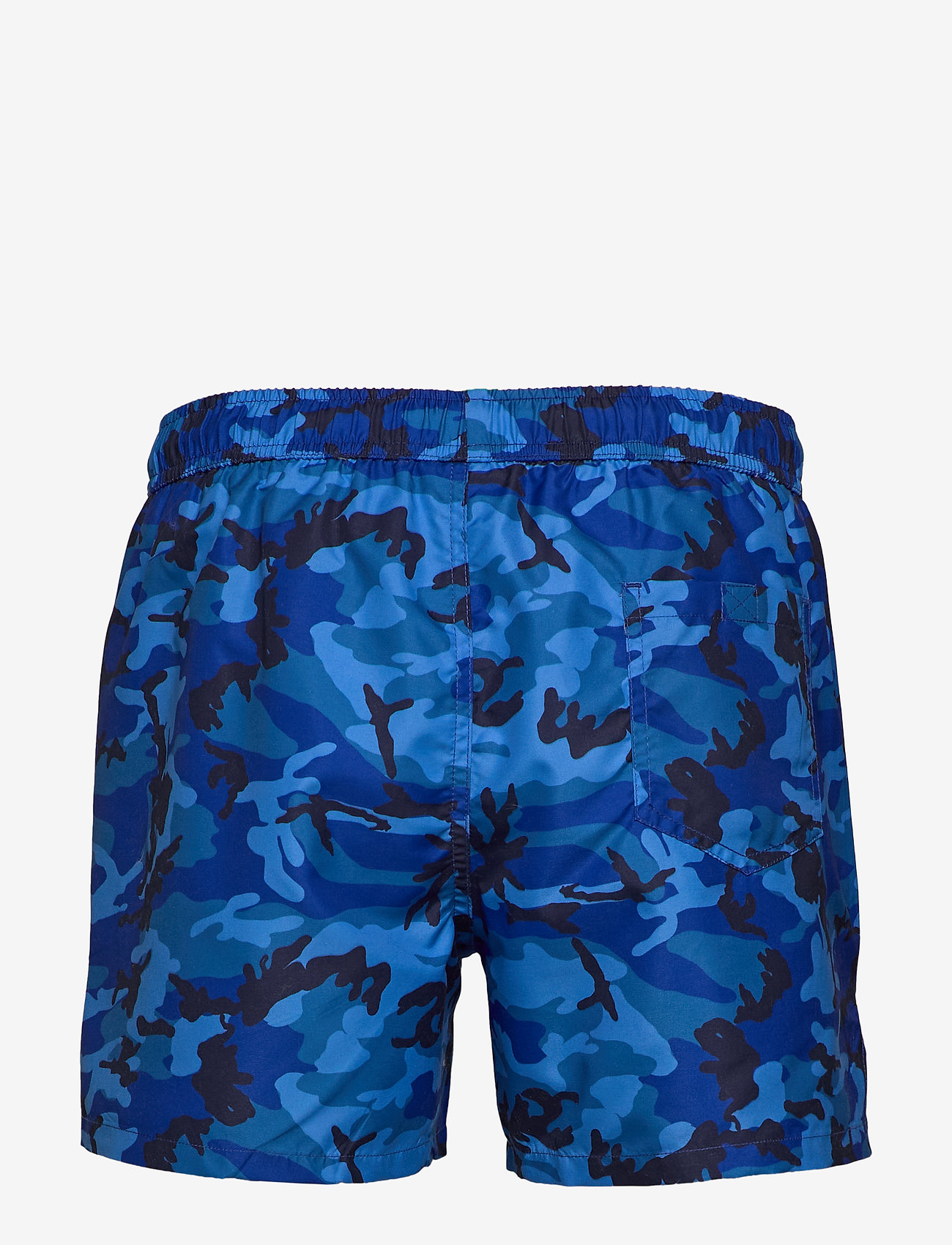 Frank Dandy - Camo Print Breeze - szorty kąpielowe - blue - 1