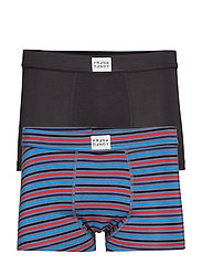 2 Pack Bamboo Trunk - BLACK/STRIPE MULTI GREY