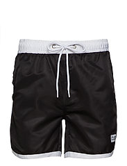 St Paul Long Bermuda Shorts - BLACK