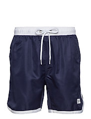 St Paul Long Bermuda Shorts - DARK NAVY