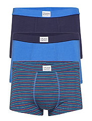 3 Pack Bamboo Trunk - BLUE/STRIPE MULTI/DK NAVY