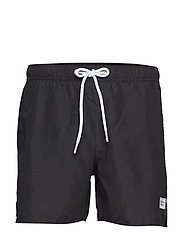 Breeze Long Swim Shorts - BLACK