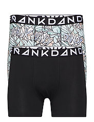 2 Pack POW Boxer - BLACK/WHITE