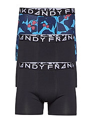 3 Pack Scullberry Boxer - BLUE/BLACK