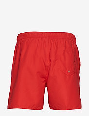 Frank Dandy - Breeze Long Swim Shorts - badbyxor - red - 1