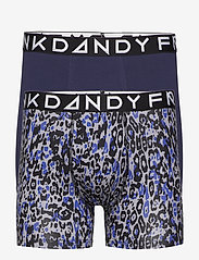 Frank Dandy - 2 Pack Leo Boxer - bokserki - dark navy/grey - 0