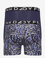 Frank Dandy - 2 Pack Leo Boxer - bokserki - dark navy/grey - 1