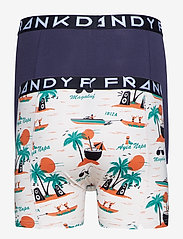 Frank Dandy - 2 Pack Magaluf Boxer - boxers - beige/navy - 1