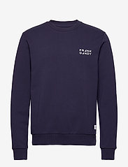 Frank Dandy - Unisex Solid Crew - basic sweatshirts - dark navy - 0