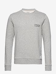 Frank Dandy - Unisex Solid Crew - basic sweatshirts - grey melange - 0