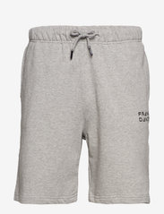 Frank Dandy - Unisex Solid Sweat Shorts - krótkie spodenki - grey melange - 0