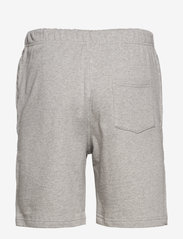 Frank Dandy - Unisex Solid Sweat Shorts - krótkie spodenki - grey melange - 1