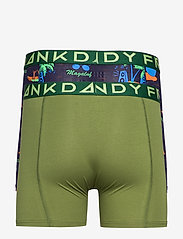 Frank Dandy - 2 Pack Magaluf Boxer - bokserki - black/green - 1