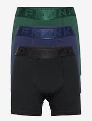 Boy's 3-pack Legend Organic Cotton Boxer - BLACK/BLUE/GREEN