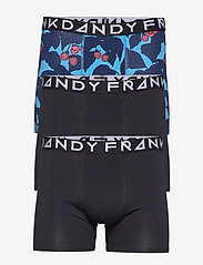 Frank Dandy - 3 Pack Scullberry Boxer - boxershorts - blue/black - 0