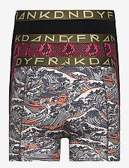 Frank Dandy - 3-Pack Waves & Snakes Boxer - boxershorts - black/red/black - 1