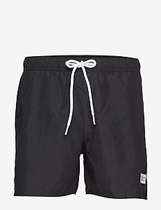 Breeze Long Swim Shorts - BLACK