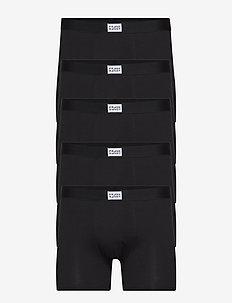 5P. Legend Organic Boxer Box - BLACK