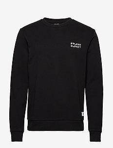 Unisex Solid Crew - basic sweatshirts - black