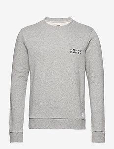 Unisex Solid Crew - basic sweatshirts - grey melange