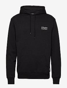 Unisex Solid Hoodie - basic sweatshirts - black