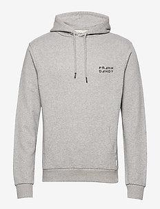Unisex Solid Hoodie - basic sweatshirts - grey melange