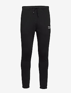 Unisex Solid Sweat Pants - BLACK
