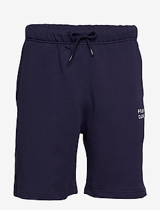 Unisex Solid Sweat Shorts - casual shorts - dark navy