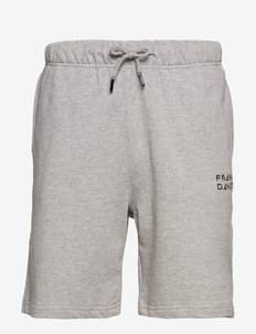 Unisex Solid Sweat Shorts - casual shorts - grey melange