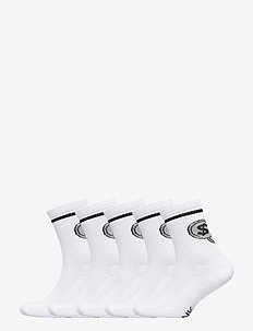 Half Terry Sock 800 Mill - WHITE