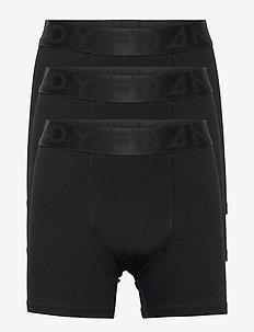 Boy's 3-pack Legend Organic Cotton Boxer - nat- & undertøj - black