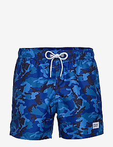 Camo Print Breeze - shorts de bain - blue