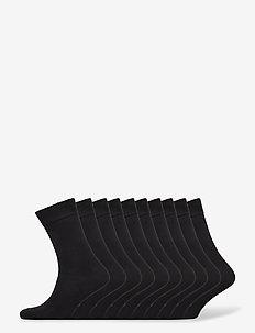 BO.10P Crew Sock - vanliga strumpor - black